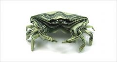 money-gami crab